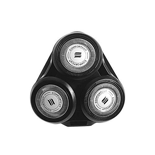 Têtes de Rasoir Rotatives de Rechange, Tête de coupe Compatible pour Philips SH50 S5000 SH70 SH90 RQ10 RQ11 RQ12 - électrique rasoir Tête de rechange