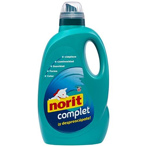 NORIT Complet - Detergente Líquido 60 lavados 3.000 ml