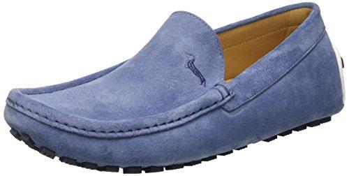 Harmont & Blaine E601372000517, Mocassini Uomo, Blu (Azzurro), 41