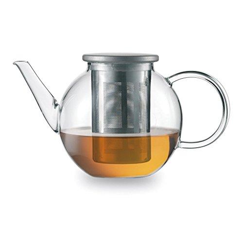 Jenaer Glas Tea Teekanne, Glas, transparent, 15.6 x 15.6 x 12.4 cm