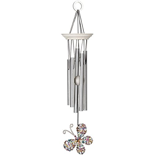 Woodstock Isabelle's Dancing Butterfly Wind Chime, Confetti