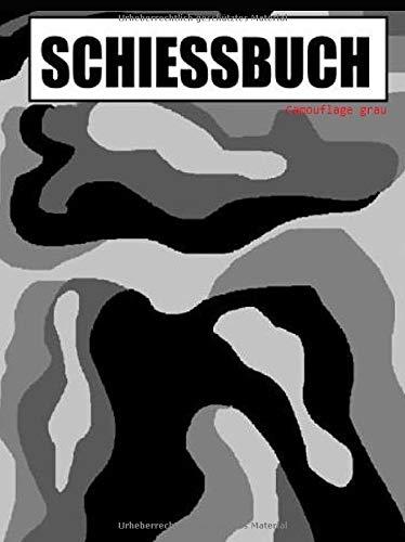 Schiessbuch - camouflage grau
