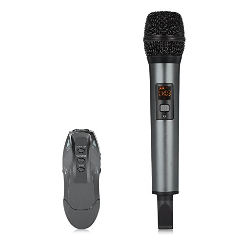 K18 - V UHF Bluetooth Wireless Microphone for iOS Android...
