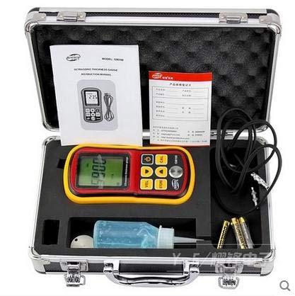 ZJN-JN LCD numérique à ultrasons Jauge d'épaisseur testeur jauge de profondeur compteur de vitesse du son Range 1.2~220mm Indicateurs de mesure