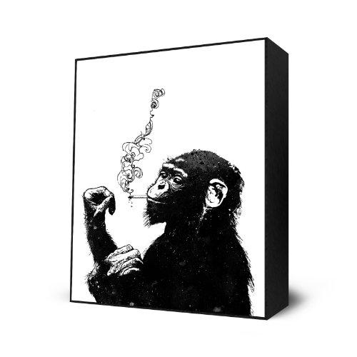 Bitch, Don't Kill My Vibe by Alex Cherry - Mini Art Block Print - 10 x 12 inches
