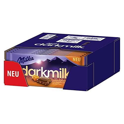 Milka darkmilk Salz Karamell, 25er Pack (25 x 85g)