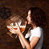 Red wine glass MFSRW Giant, Oversized Beer Glass, Extra Large Party Wine Glass, Large Capacity Wine Glass (Size : 4000ML)
