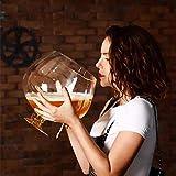 Verre géant vin rouge, verre surdimensionné bière, verre Grande partie de vin supplémentaire, grande capacité Verre à vin Xuan - worth having (Size : 6000ML)