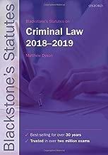 Best blackstone's statutes on criminal law Reviews