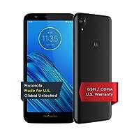 Moto G7 | Unlocked | Made for US by Motorola | 4/64GB | 12MP Camera | Black GSM CDMA