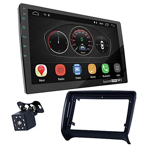 UGAR EX10 9' Android 10.0 DSP Radio de Coche mit 11-124S Panel Dash Instalación Fascia Kit Compatible para Audi TT (8J) 2006-2014