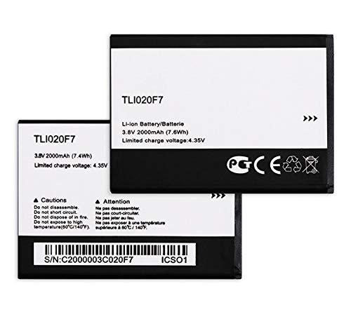Todobarato24h Bateria Alcatel Pixi 4 5.0 / Alcatel U5 4G / U5 / U5 HD / Pop2 / Compatible Tli020F7 2000 mAh (Solo Valida para TLI020F7, NO Compatible con F2/F1)