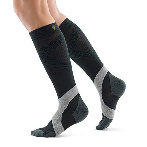 BAUERFEIND Sport Kompressionsstrümpfe Sports Compression Socks Ball & Racket, 1 Paar Unisex Sportsocken für Ballsportarten, Kniestrümpfe