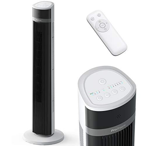Pro Breeze Oscillating 40-inch Tower Fan, Powerful 45W Motor Portable Fan, 3...