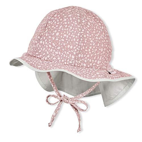 Sterntaler Baby-Mädchen Flapper 1412114 Hut, rosa, 45