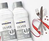 Stanhome Silver 2 piezas Crema antioxidante para plata, cromo y plata