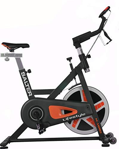 SALTER Lifestyle Bicicleta Indoor, Adultos Unisex, Negro, l