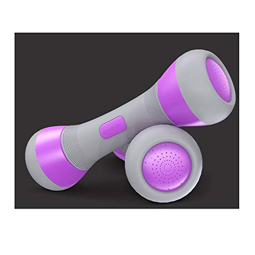 YLL Haltère réglable Poids Ladies Fitness Accueil Petite Asie Bell Equipment 1 Paire de Sports Barbell Enfants Peuvent être lavés (Couleur : Violet)