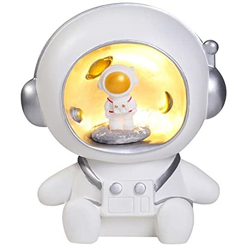 Camisin Astronauta Luz de la Noche Accesorios de Vinilo Luz Decoración del Hogar Hucha Luz para Niños Regalo del Bebé A