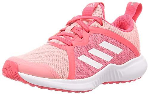 adidas Unisex Fortarun X K Laufschuh, Glory Pink/FTWR Weiss/Rot Shock, 36 EU