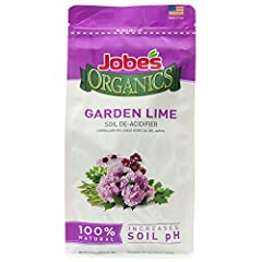 Organic granular for increasing soils alkalinity, pH; Low pH can cause poor fertilizer response and soil structure Most plants grow well in a pH between 6 and 7, with 6.5-6.8 being ideal; Below 6.0 many nutrients cannot be absorbed Adding garden lime...