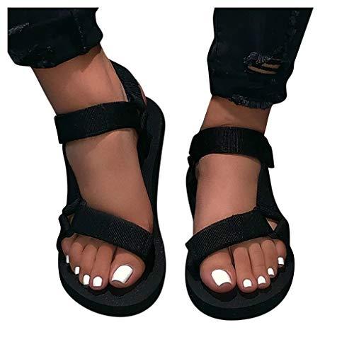 Sandalias mujer plataforma Sandalias mujer plataforma verano 2021 sandalias mujer Deporte Roma moda playa Casual Punta Descubierta de Piscina,Zapatos mujer primavera 2021 informales
