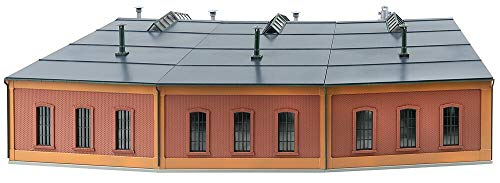 Faller 120281 HO Scale 1:87 Kit of a Roundhouse with 12° Track Angle - New 2020