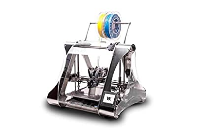 ZMorph VX Multi-Tool 3D Printer - Full Set - Includes Dual Material Extruder, Thick Paste Extruder, CNC, and Laser Cutting/Engraving Toolheads