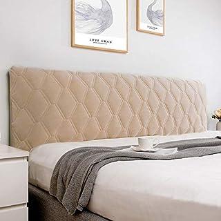 uyeoco Cabeceros De Cama Funda Cover Funda para Cabeceros De Cama De Tela Lado De La Cama, Cubierta A Prueba De Polvo Decoración del Dormitorio Lavable Cabeceros (Color : Camel, Size : 160cm)