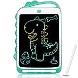 KidsPark Tableta de Escritura LCD para niños, Tablero de Dibujo de luz Colorida de 10 Pulgadas, Cuaderno de Dibujo de Escritura a Mano portátil para niños, niñas, Adultos, Azul