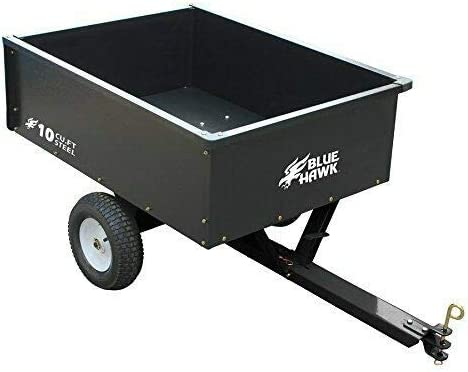 Blue Hawk 10-cu ft Steel Luxury - Cart Capacity 400lb Sales Dump