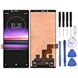 Wangl Sony Spare LCD Screen and Digitizer Full Assembly for Sony Xperia 1 (Black) Sony Spare (Color : Black)