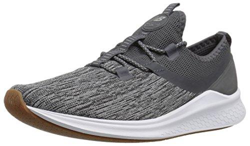 New Balance Women's Fresh Foam Lazr Sport V1 Sneaker, Magnet/Team Away Grey/White Munsell, 5 M US