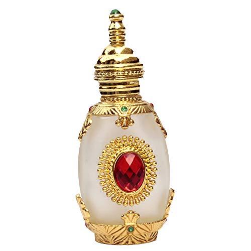 Botella de perfume recargable vacía vintage BaronHong Botella de perfume de cristal...