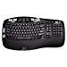 Logitech K350 2.4Ghz Wireless Keyboard (Renewed)