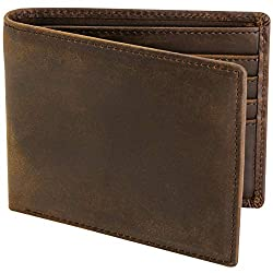 Stay Fine Wallets For Men RFID Blocking | Mens Leather Bifold Wallet | Genuine Leather | Extra Capacity Mens Wallet