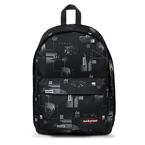 Eastpak Out Of Office Zaino, 44 Cm, 27 L, Nero (Shapes Black)