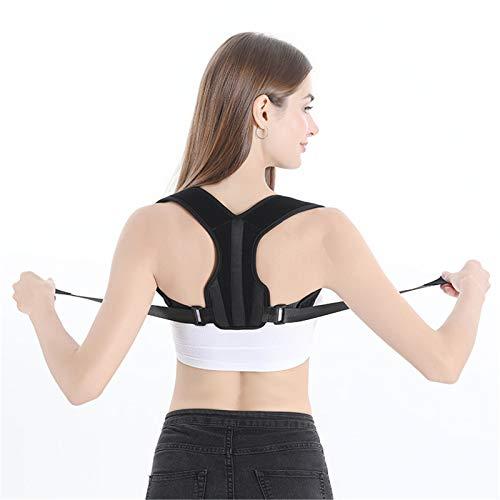 Corrector de Postura Espalda y Hombros para Hombre y Mujer, Enderezador de Espalda Transpirable Ajustable Aliviar Dolor de Espalda en el Cuello Joroba Espalda Recta Soporte Faja 05,XS(15-35kg)
