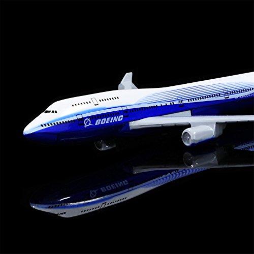 Boeing 747 Alloy Metal Airplane Models Die-cast 1:400