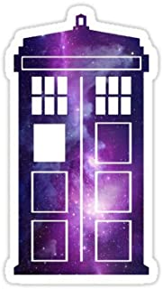 TARDIS Galaxy - Sticker Graphic Bumper Window Sicker Decal - Doctor Who Dr Who Sticker