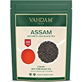 Assam Black Tea Leaves (200+ Cups) I STRONG, MALTY & RICH I 100% Pure Unblended I Single Origin Black Loose-Leaf Tea I Make ICED TEA, Hot Tea or Kombucha Tea I FTGFOP1 Long Leaf Grade, 16 oz