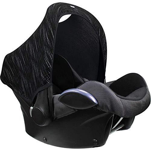 Original Dooky Hoody Sonnenschutz Sonnenverdeck für Babyschalen oder Kinderwagen (Design: Matrix,...