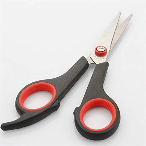 PPCERY Tijeras de Acero Inoxidable Multiusos Crafts Hogar Oficina Hogar Durable Papel-Cut Sharp Shears Estudiantes Scissor Tool (Overall Length : 7 Inch)