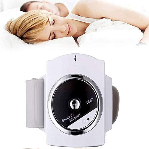 Deje de roncar Muñequera Carga USB Conexión de sueño por Infrarrojos Reloj antirronquidos
