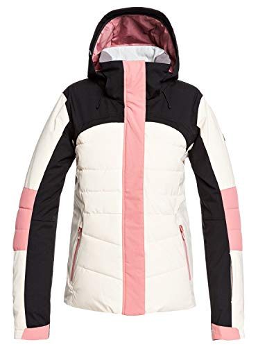 Roxy Dakota - Snow Jacket for Women - Schneejacke - Frauen - M - Weiss