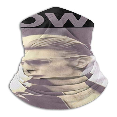 Nanobibi David Bowie Fumar Foto Unisex Microfibra Cuello Calentador Mas-k Pañuelos al aire libre Multifuncional Bufanda Cuello Polaina Pasamontañas