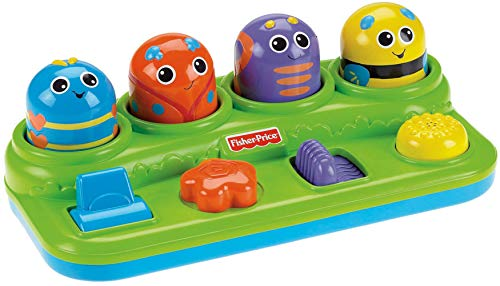 Fisher-Price Brilliant Basics Boppin' Activity Bugs Playset