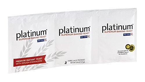 Platinum Superior Baking Yeast - 3 CT by Red Star