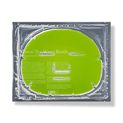 100% Pure Green Tea Water Bomb Mask