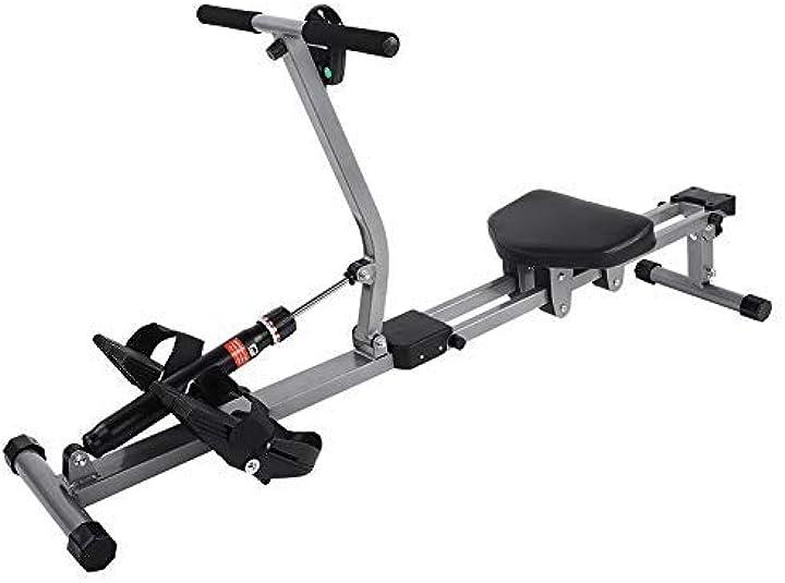 Vogatore per fitness vogatore idraulico con display,gototo B07XB4NVXH
